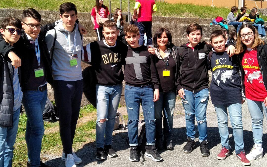 Campionati di Geografia. I ragazzi della 1Dte e 2Cte sesti in Italia