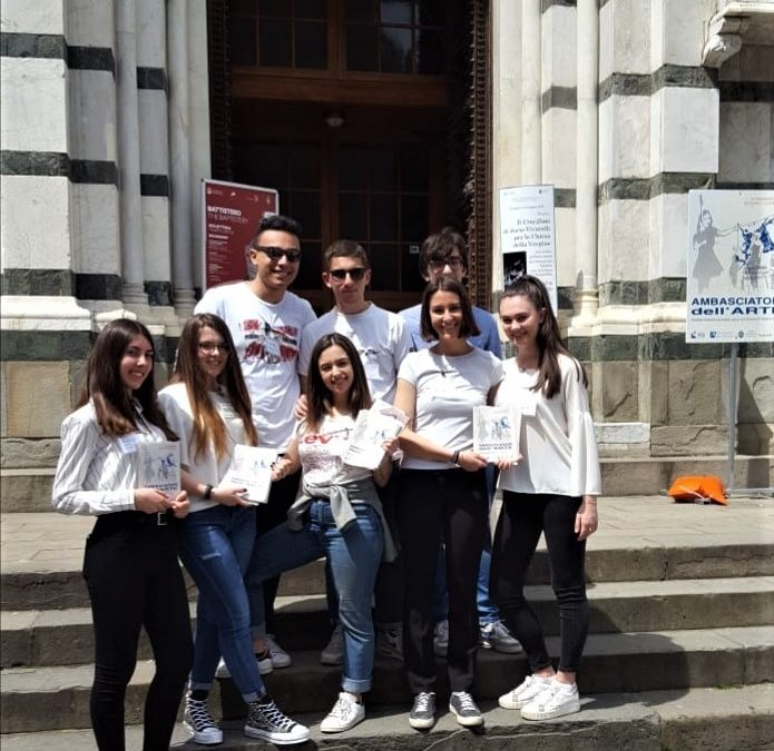 Gli studenti della 4E linguistico Ambasciatori dell'Arte