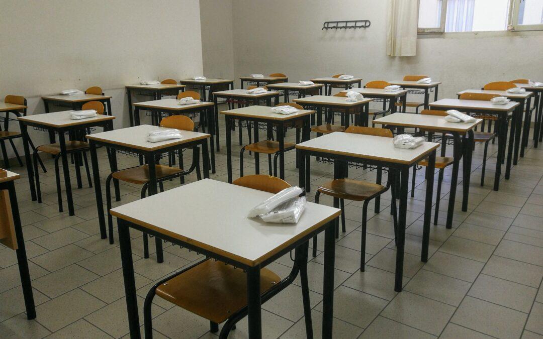 Dal 27 al 31 ottobre in presenza solo le classi prime