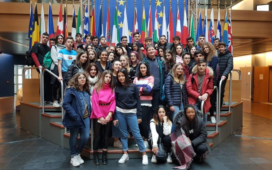 I nostri alunni al Parlamento Europeo