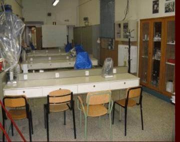 Laboratorio di Biologia e Scienza della Terra ITCS Pacini